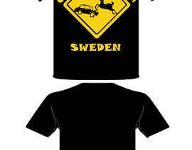 #4 untuk Design a T-Shirt for Once upon a time in Sweden oleh edwinkurn