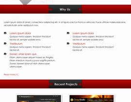 #9 for Website home page (DESIGN ONLY, no implementation required), including custom vector graphic creation. by Wecraft
