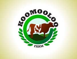 #7 para Logo Design for Koomooloo farm por praxlab