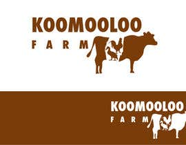 #66 para Logo Design for Koomooloo farm por praxlab