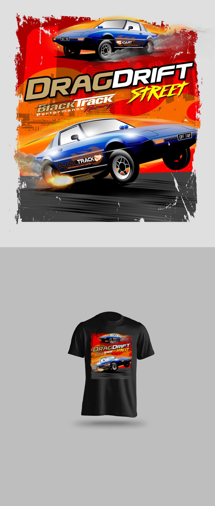 Entry #50 by anselenrique for Race car graphics incorporating