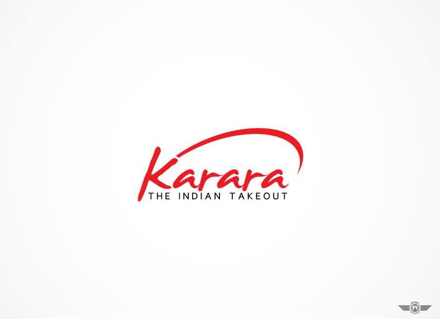 Inscrição nº 605 do Concurso para Logo Design for KARARA The Indian Takeout