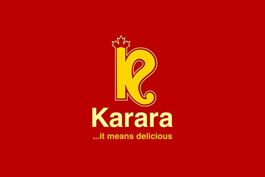 Inscrição nº 555 do Concurso para Logo Design for KARARA The Indian Takeout