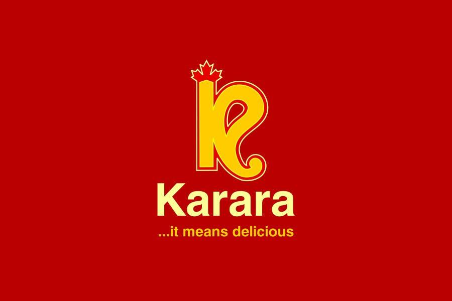 Inscrição nº 556 do Concurso para Logo Design for KARARA The Indian Takeout