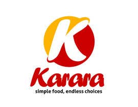nº 339 pour Logo Design for KARARA The Indian Takeout par ENNO77
