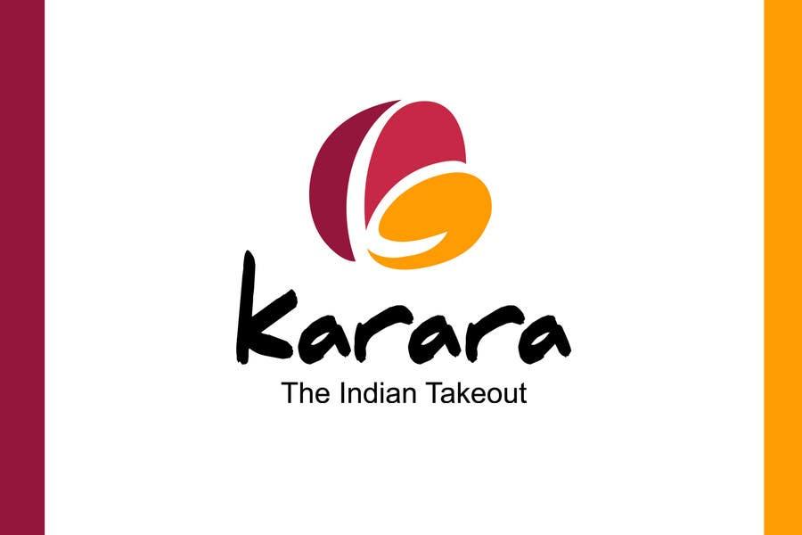 Inscrição nº 538 do Concurso para Logo Design for KARARA The Indian Takeout