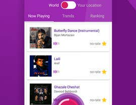 #16 for Design screenshots (images) for an Android app af Mohd00