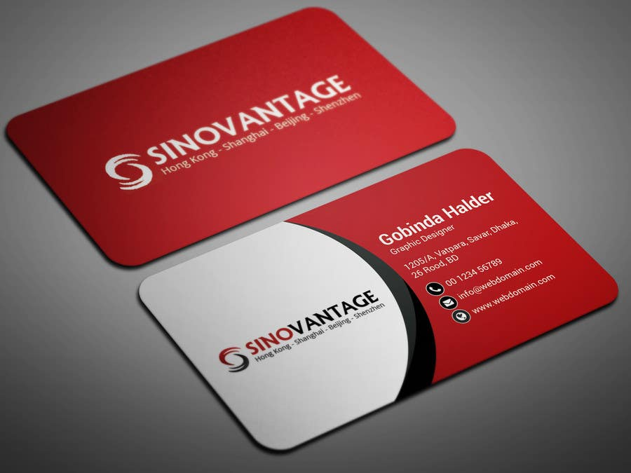 Entry #28 by smartghart for New business card needed for accounting ...