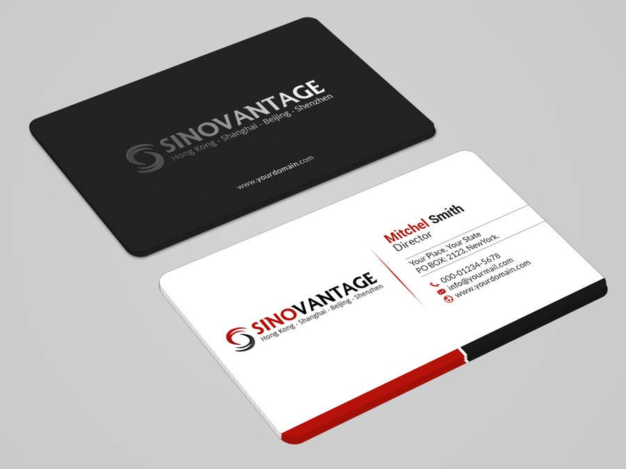 Entry 10 by mahmudkhan44 for new business card needed for business card colourmoves