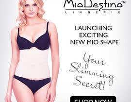 #13 for Design Website Banners for Women's Lingerie Website www.miodestino.com af ksyumayapavskaya