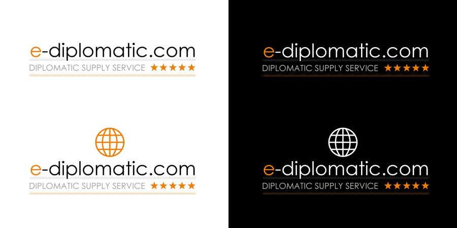 Kilpailutyö #168 kilpailussa Logo Design for online duty free diplomatic shop