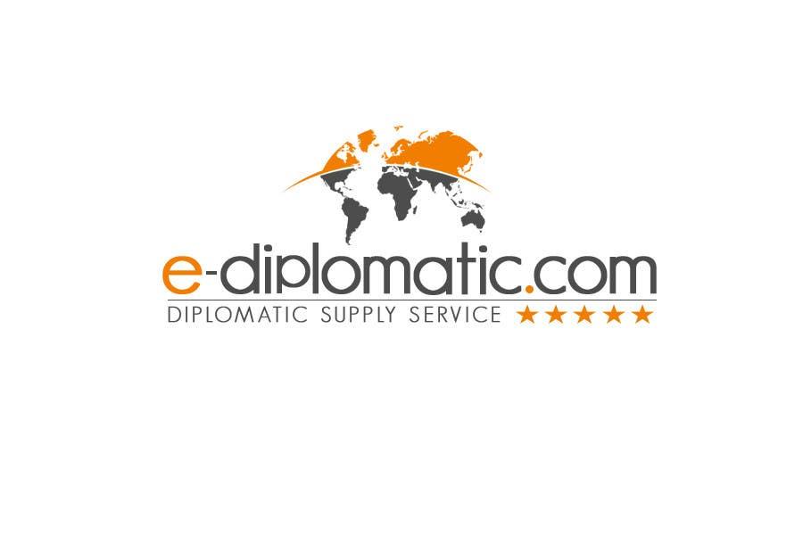 Kilpailutyö #97 kilpailussa Logo Design for online duty free diplomatic shop