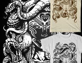 #38 cho Medusa T-Shirt Design bởi zikoblade