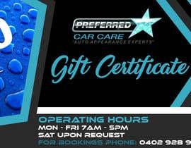 Nro 13 kilpailuun Design A Gift Certificate käyttäjältä krismhond