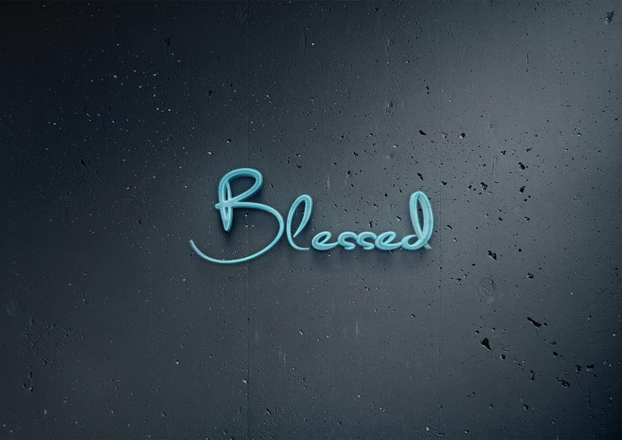 Bài tham dự cuộc thi #                                        75                                      cho                                         Design a Beautiful Logo For the Word: BLESSED