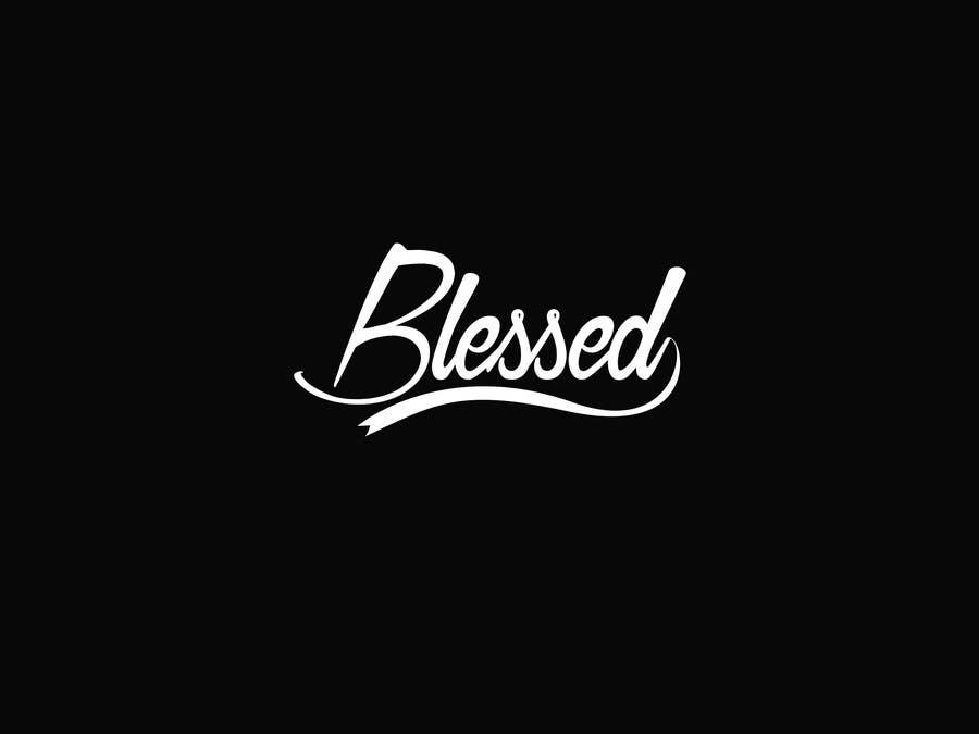 Bài tham dự cuộc thi #                                        14                                      cho                                         Design a Beautiful Logo For the Word: BLESSED