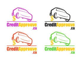 nº 125 pour Logo Design for Credit approuve .ca par SkyWalkerAL