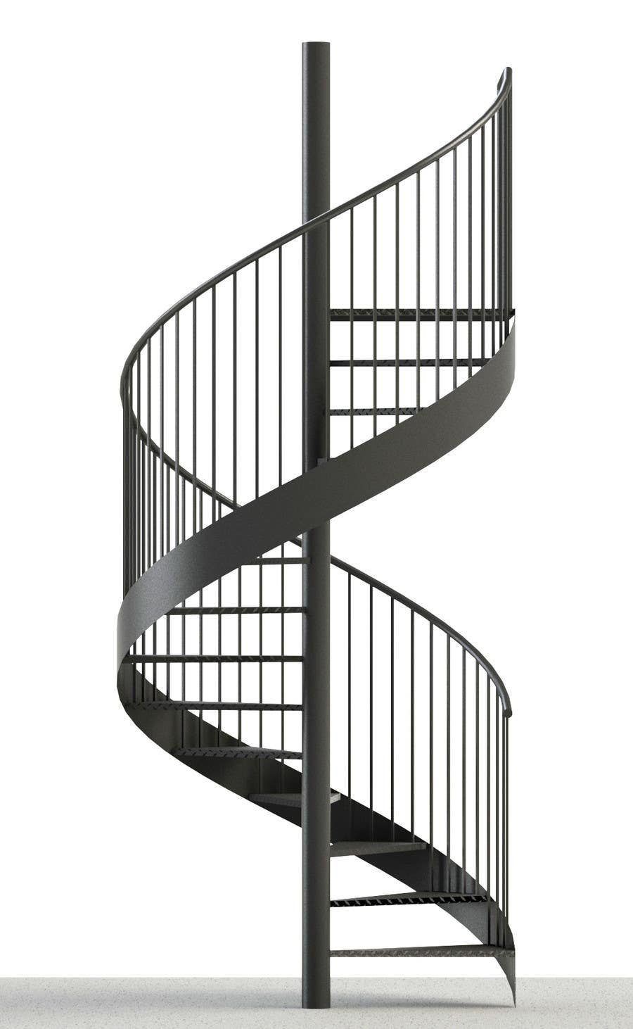 Spiral staircase drawing in solid works freelancer for Spiral stair dwg