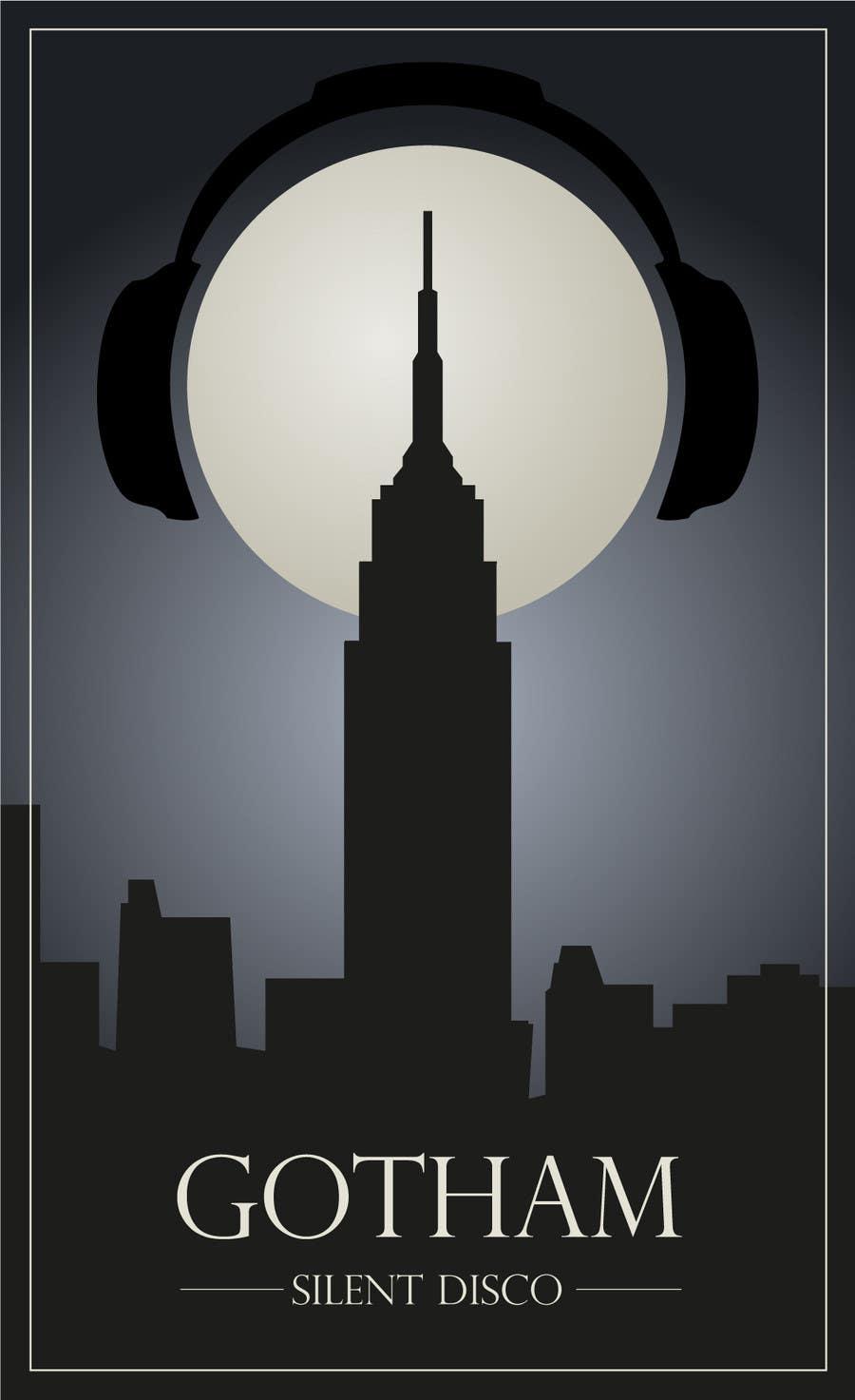 Bài tham dự cuộc thi #                                        12                                      cho                                         Design a Logo for Gotham Silent Disco