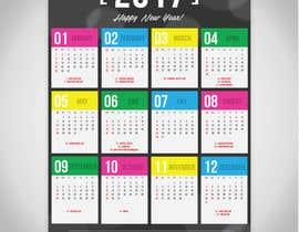 #23 для I need some Graphic Design for a 2017 Calendar от pecastro