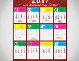 #24 для I need some Graphic Design for a 2017 Calendar от pecastro