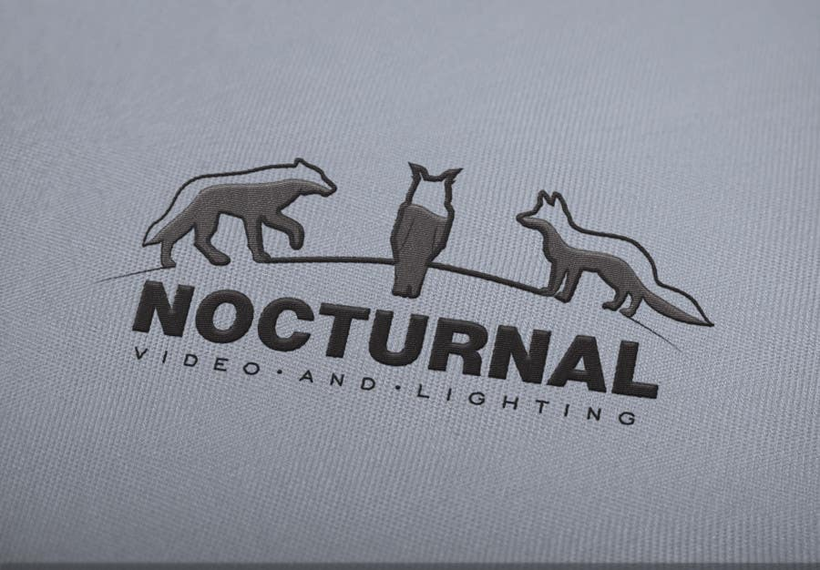 Image of: Patch Contest Entry 28 For Design Logo Nocturnal Facebook Entry 28 By Vankovvv For Design Logo Nocturnal Freelancer
