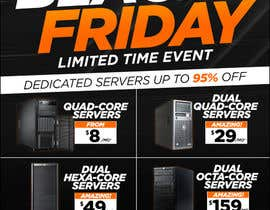 #14 for Design a Black Friday Flyer for Web Hosting Company by Ecku