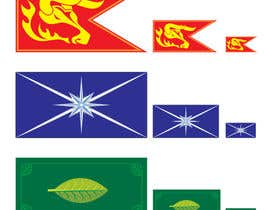 #11 for Create 3 Flags af enodeer