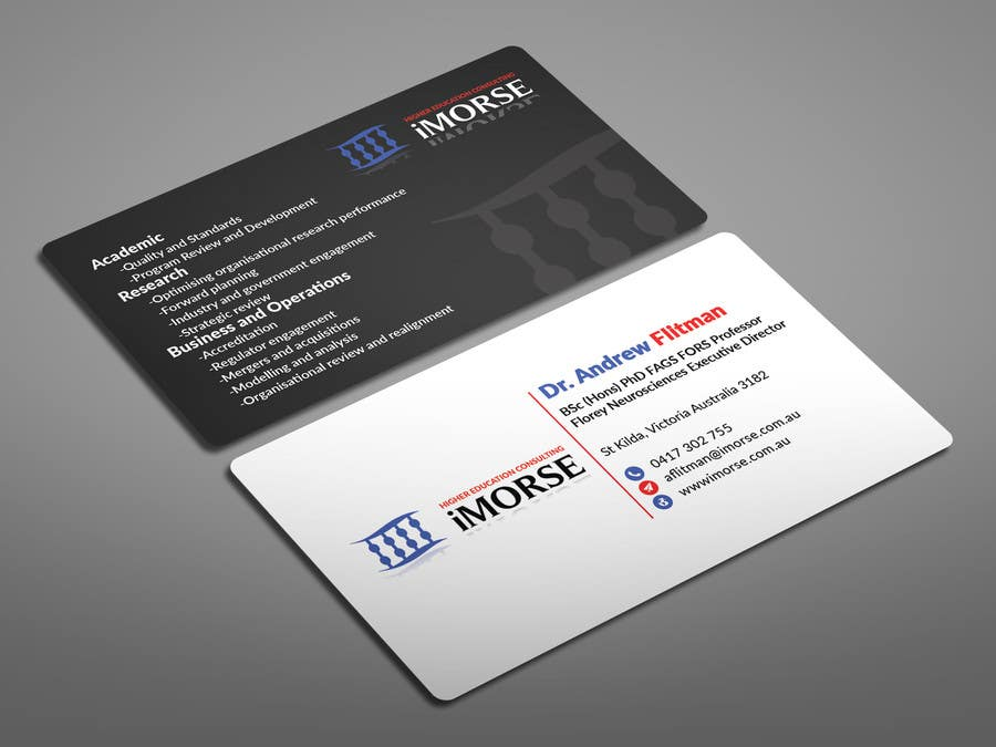 Entry #43 by rashedulhossain4 for Design some Business Cards ...