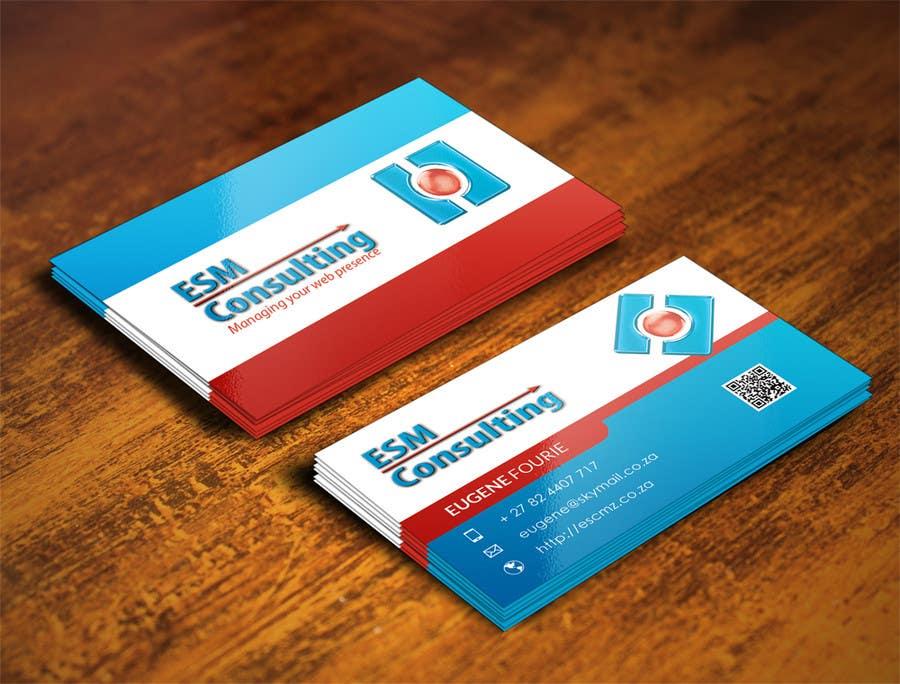 Bài tham dự cuộc thi #                                        16                                      cho                                         Design Business Cards for ESM Consulting