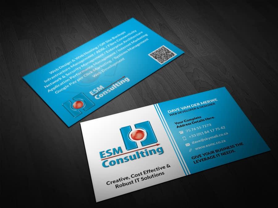 Bài tham dự cuộc thi #                                        36                                      cho                                         Design Business Cards for ESM Consulting