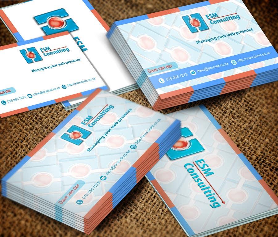 Bài tham dự cuộc thi #                                        24                                      cho                                         Design Business Cards for ESM Consulting