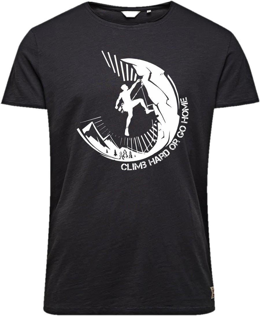 Shirt design needed -  41 For Hard Climbing T Shirt Design Needed By Javierlizarbe