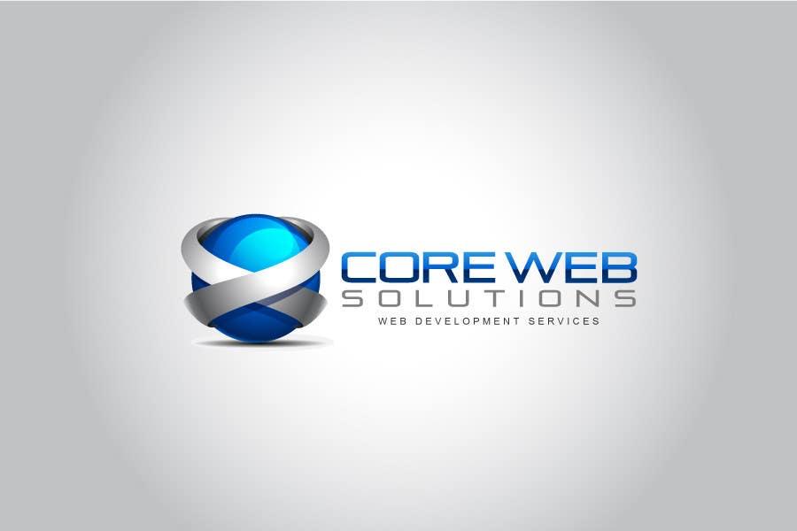 Penyertaan Peraduan #201 untuk Logo Design for Core Web Solutions