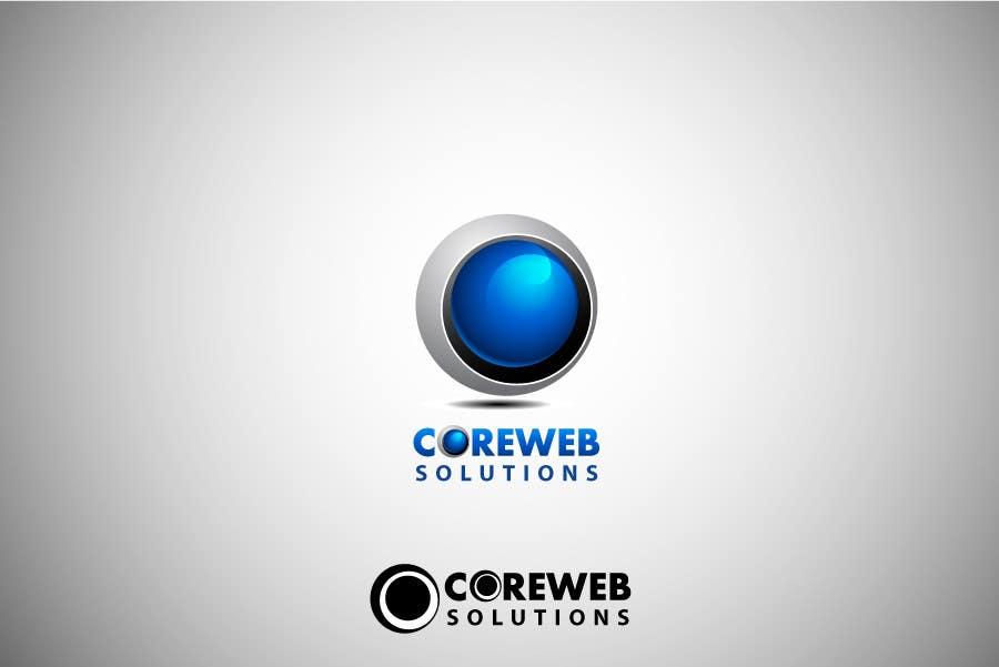 Penyertaan Peraduan #237 untuk Logo Design for Core Web Solutions