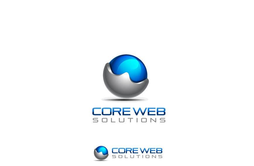 Penyertaan Peraduan #215 untuk Logo Design for Core Web Solutions