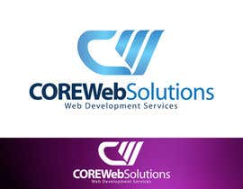 #225 para Logo Design for Core Web Solutions por aquariusstar
