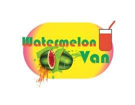 nº 8 pour Logo design for Juice Bar - Watermelon Van par amandeepsinghhp