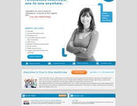 nº 130 pour WEBPAGE FINISH OFF Design based on already designed layout par mfbdeip