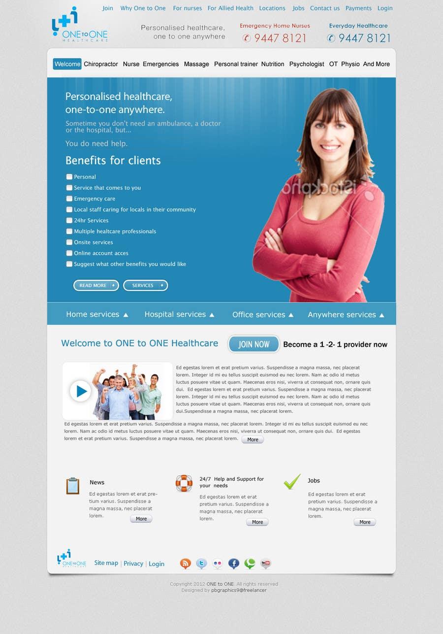 Konkurrenceindlæg #                                        55                                      for                                         WEBPAGE FINISH OFF Design based on already designed layout