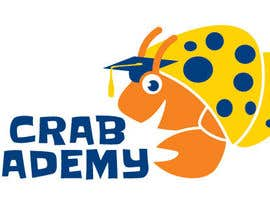 #28 for New Crab Academy Logo for Hermit Crabs by tjayart