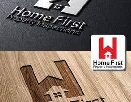 #48 untuk Logo Design for Home First Property Inspections oleh ipanfreelance