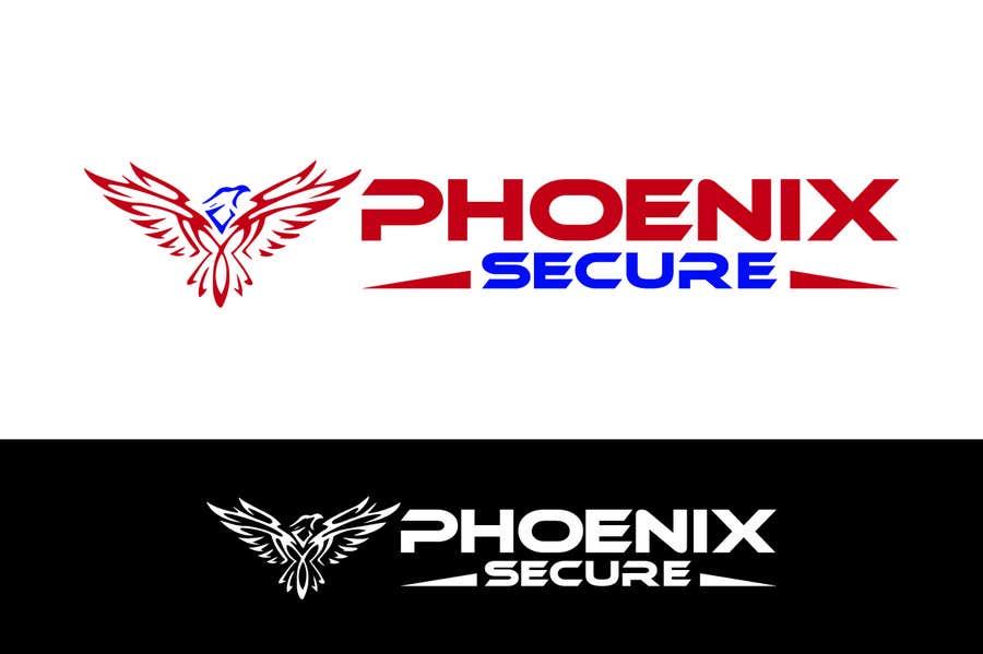 Proposition n°                                        7                                      du concours                                         Design a Logo for Phoenix Secure