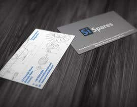 #30 para Business Card Design for SI - Spares de Marlonuk