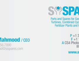 #67 para Business Card Design for SI - Spares por aldodager