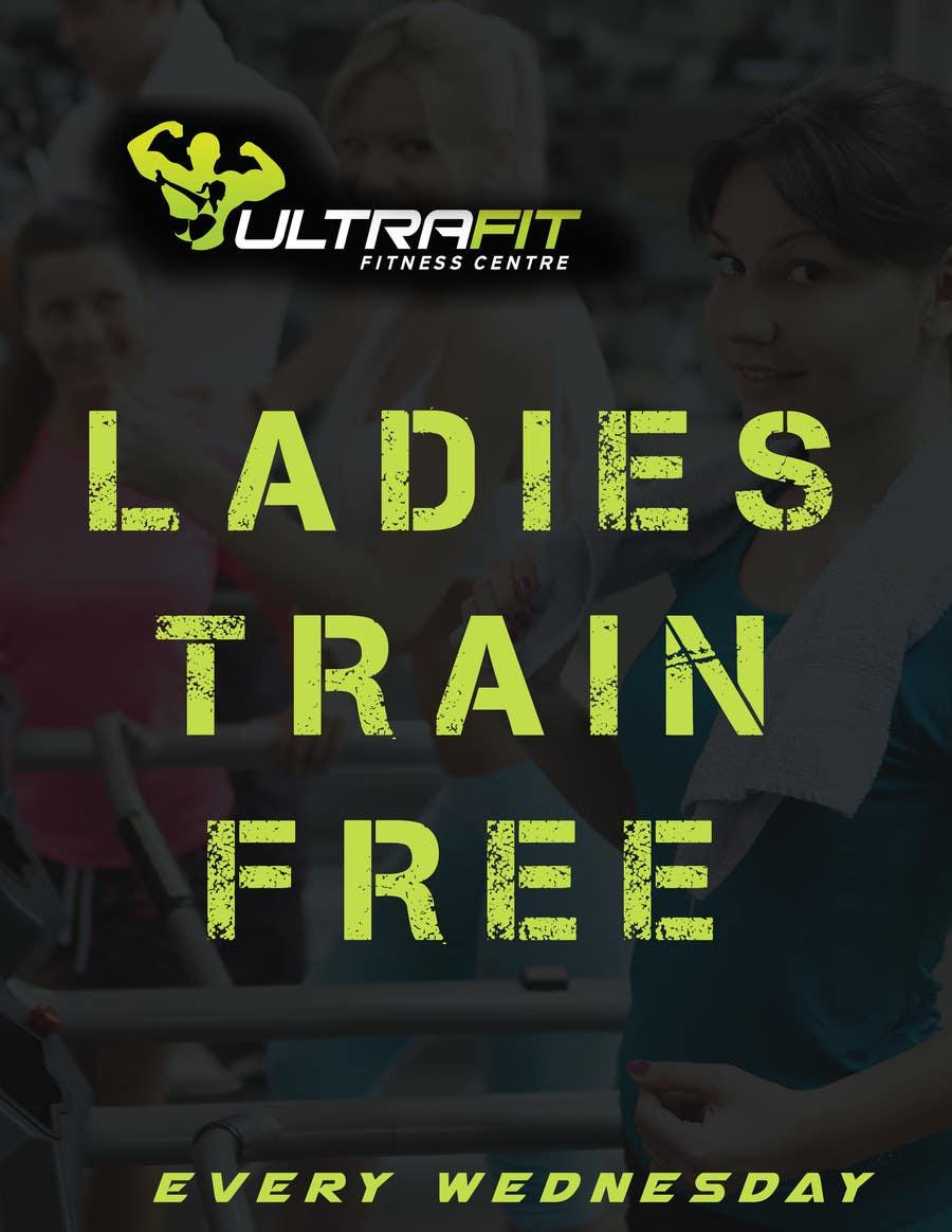 Inscrição nº                                         25                                      do Concurso para                                         Design a Flyer for Ultrafit ladies train for free