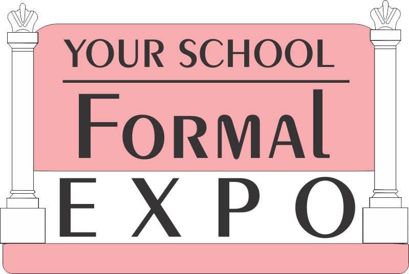 Penyertaan Peraduan #                                        112                                      untuk                                         Logo Design for Your School Formal Expo