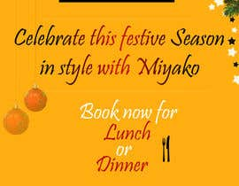 "nº 19 pour Design a 30"" by 40"" portrait poster in photoshop for restaurant christmas booking par sasidha"