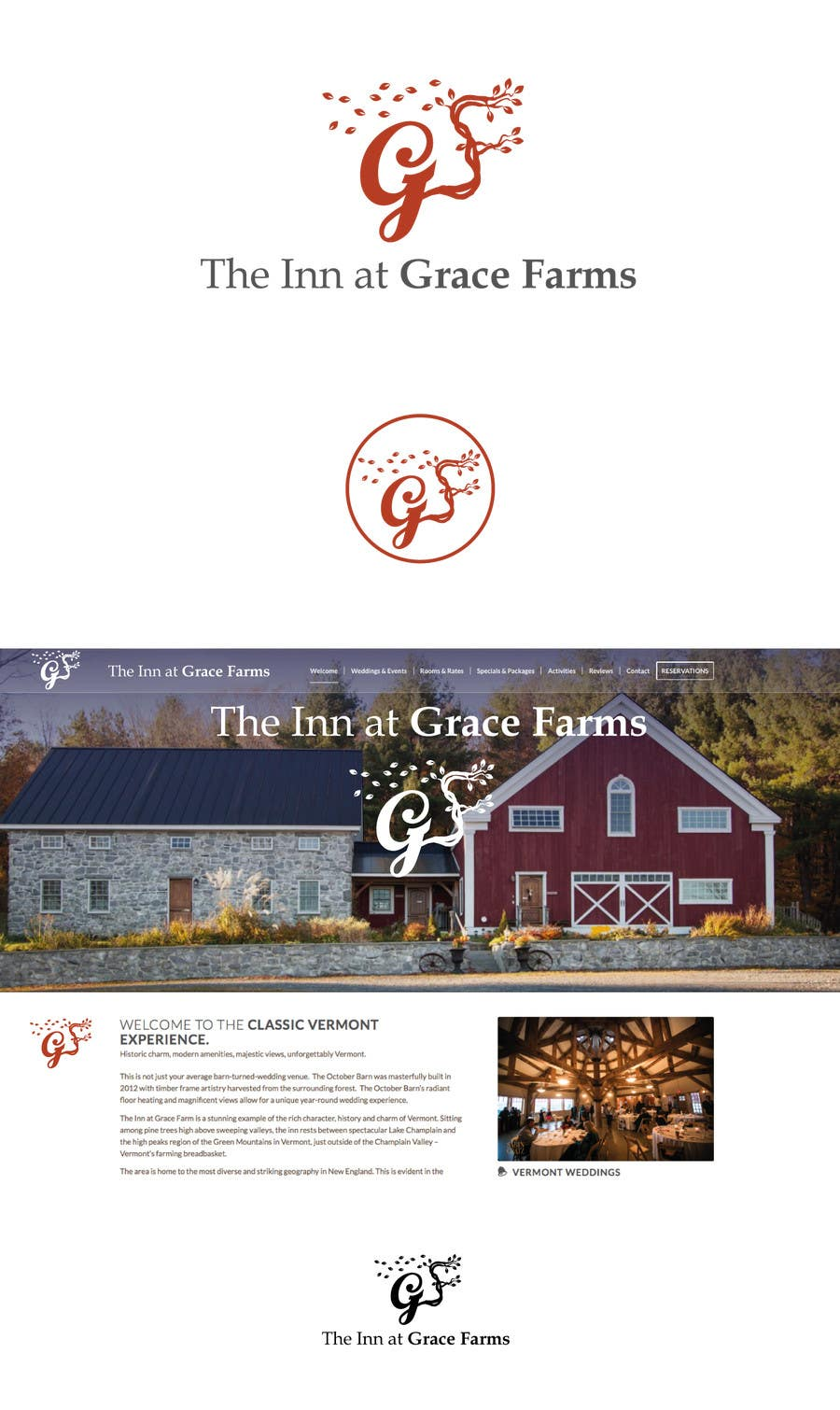 Entry #23 by louisecurtis for The Inn at Grace Farms logo