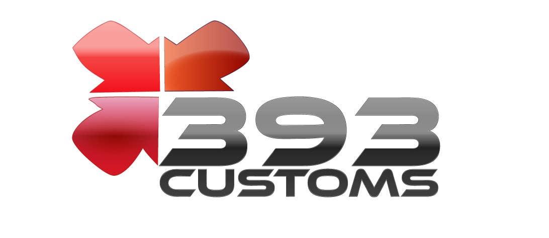 Kilpailutyö #133 kilpailussa Logo Design for 393 CUSTOMS